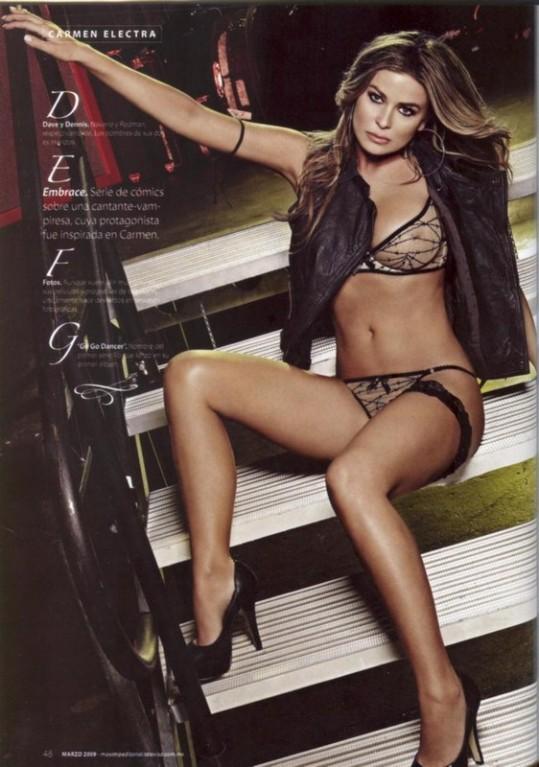 Carmen electra sexy nue