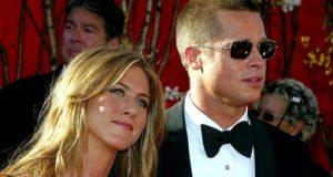 Brad Pitt in Jennifer Aniston