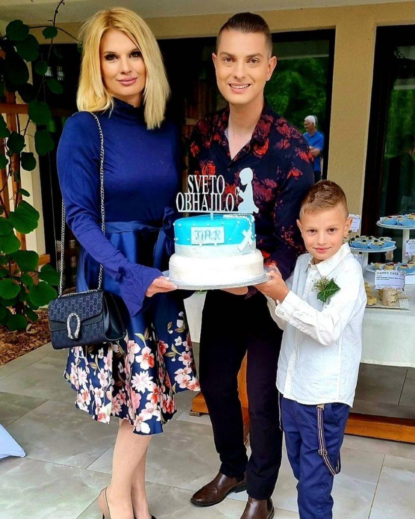 Damjan Murko z družino